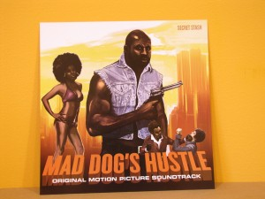 "12""x12"" Mad Dog's Hustle album artwork"