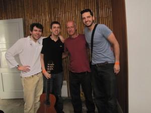 Unai, Cory, Miki, and Eric